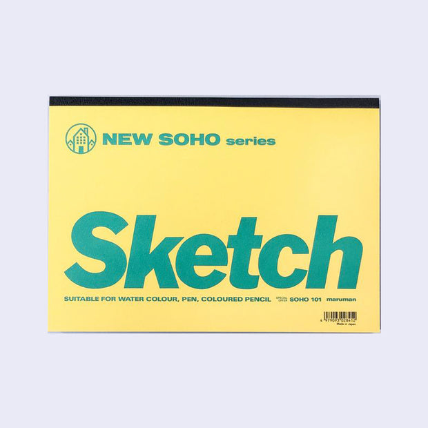 Maruman New Soho B5 Sketchbook (101)