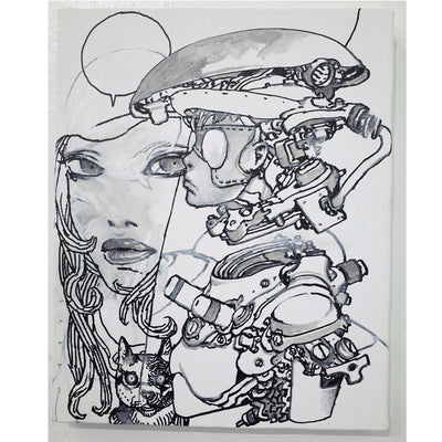 Katsuya Terada - Mixed Media - #23