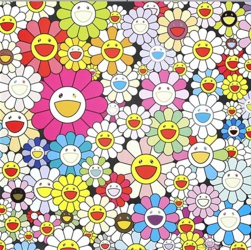 Takashi Murakami - Flowers from the village of Ponkotan Print