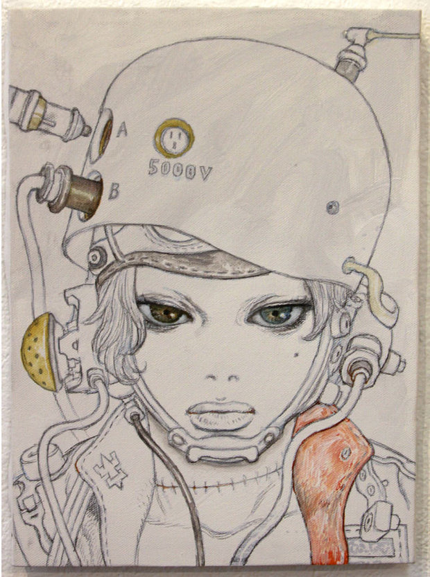 Katsuya Terada - Hot Pot Girl on Canvas 4 - #5