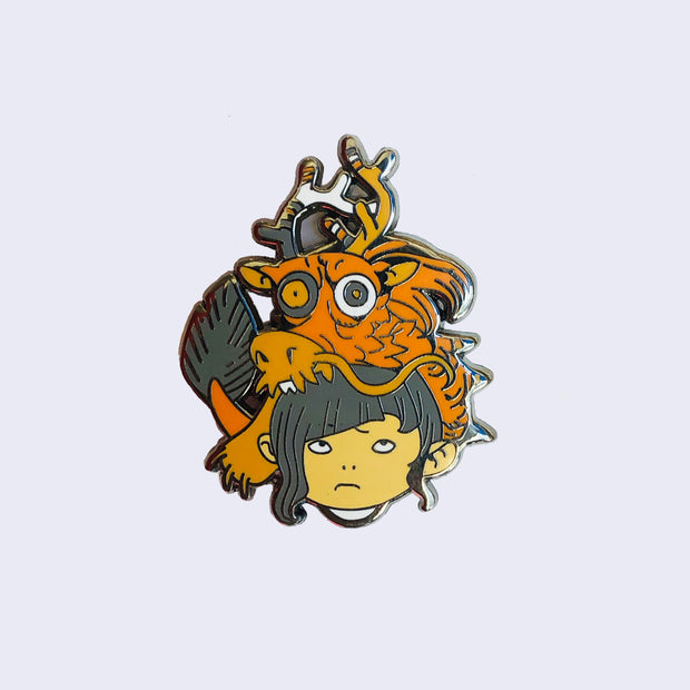Giant Robot - Katsuya Terada Dragon Girl Pin