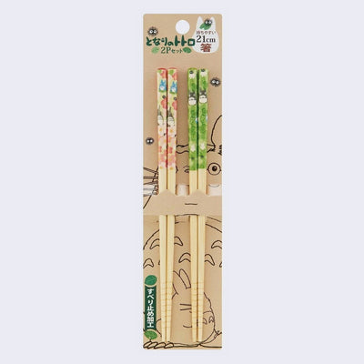 My Neighbor Totoro Bamboo Chopsticks - 2 Piece Set