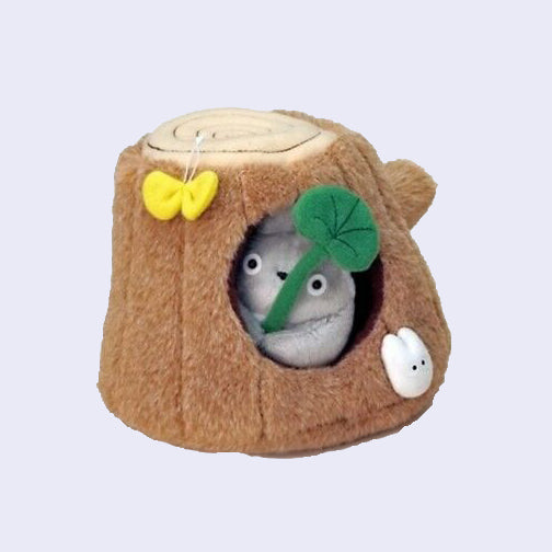 Totoro Tree Stump Plush