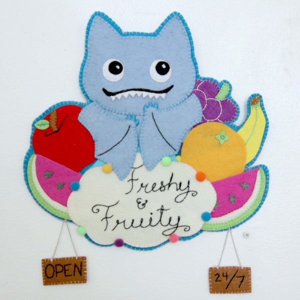 Jecasaur - Ice Bat Fruity Stand Sign - #69