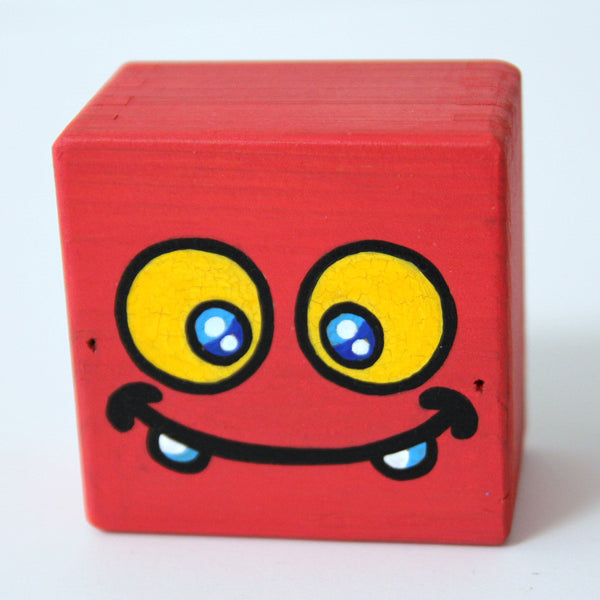 Jerome Lu - RGB Uglydoll Cubed (Red) - #206