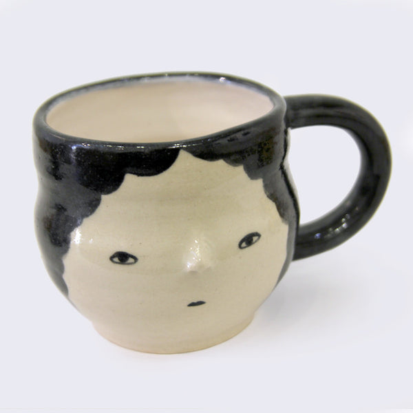 Uno+Ichi - Face Ceramic Mug (#3)