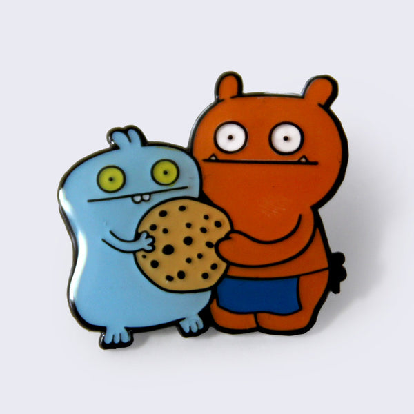 Uglydoll - Babo & Wage with Cookie Enamel Pin