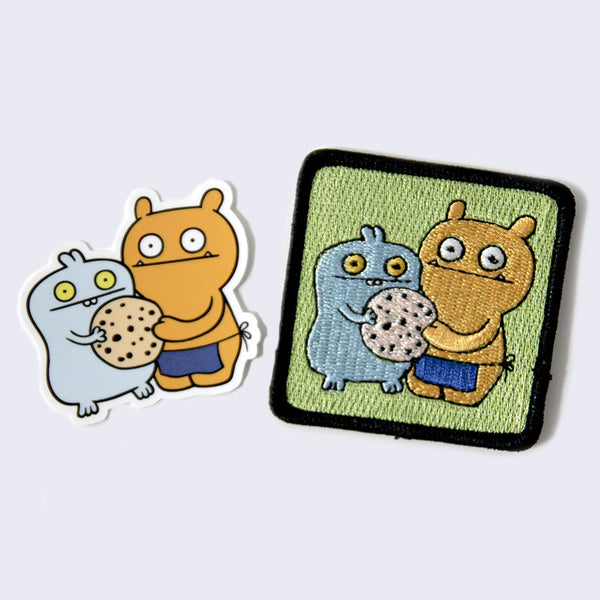 Uglydoll - Babo and Wage Patch & Sticker Set