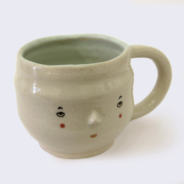 Uno+Ichi - Face Ceramic Mug (#2)