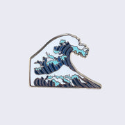 Giant Robot - Japanese Wave Enamel Pin