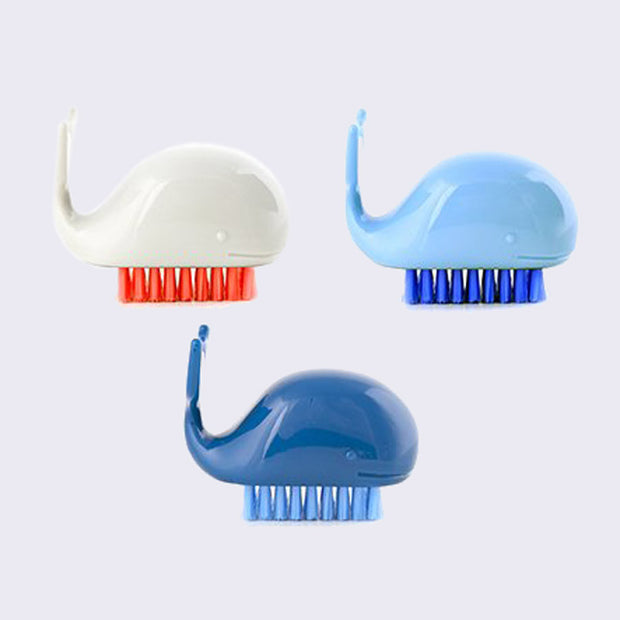 Whale Nail Brush (Assorted)