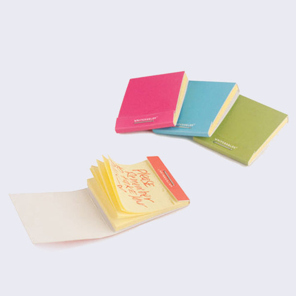 Writersblok Match Book Sticky Notes (Set of 4)