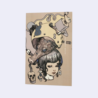 Katsuya Terada x Giant Robot - I Love Coffee Zine 2 + Sticker