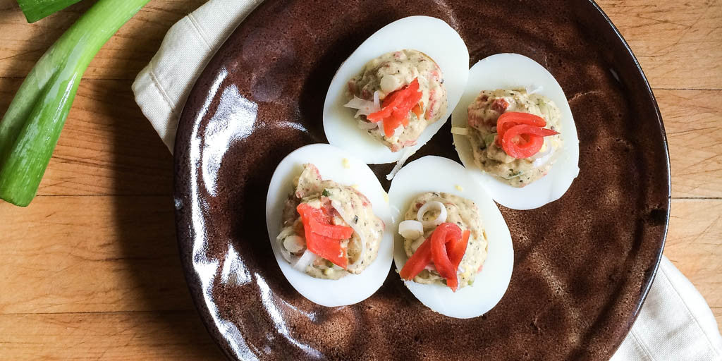 Better Than Everything Bagel Deviled Eggs