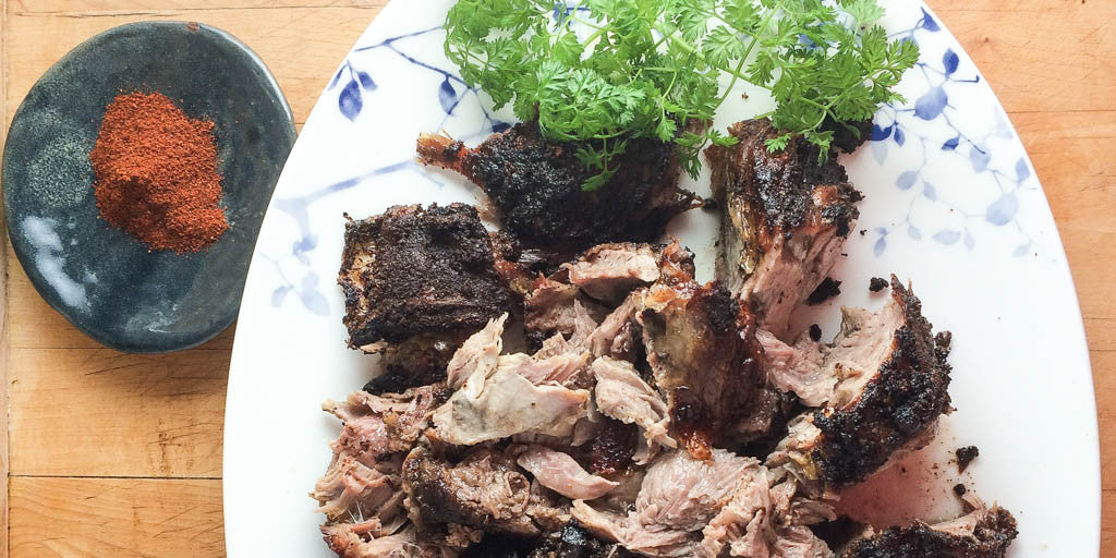 Baharat Roasted Lamb Shoulder