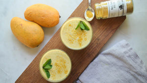 Golden Milk Mango Lassi