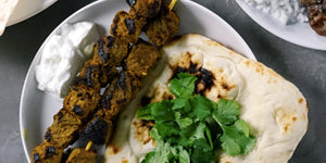 Madras Curry Lamb Kebabs