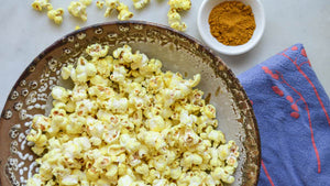 Spicy Sweet Curry Popcorn