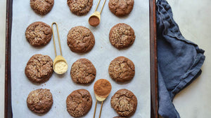 Mama Jane's Crinkle-Top Chewy Molasses Cookies