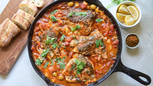 Moroccan Tagine-Inspired Fish Stew