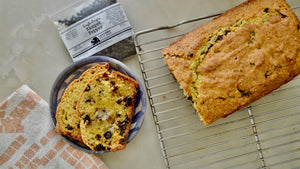 Black Pepper, Dark Chocolate and Sour Cherry Bread