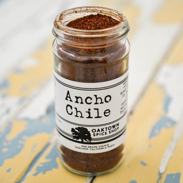 Ground Ancho Chile, 1/2 cup jar