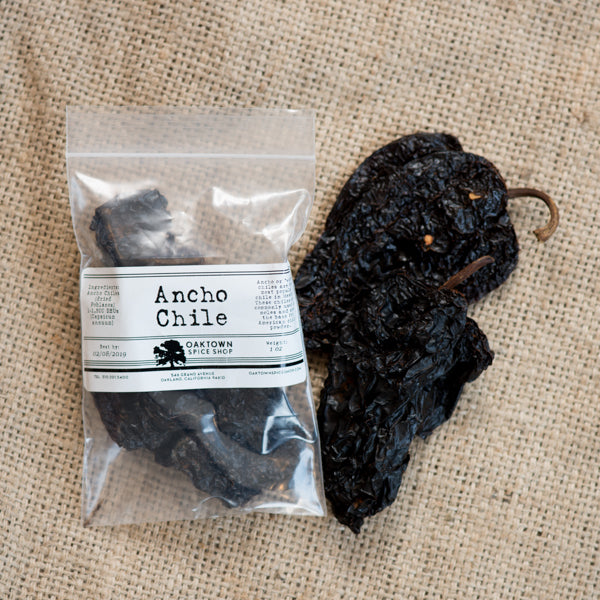 Ancho Chiles, Whole