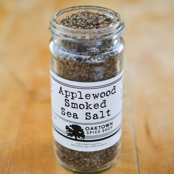 Applewood Smoked Sea Salt, 1/2 cup jar