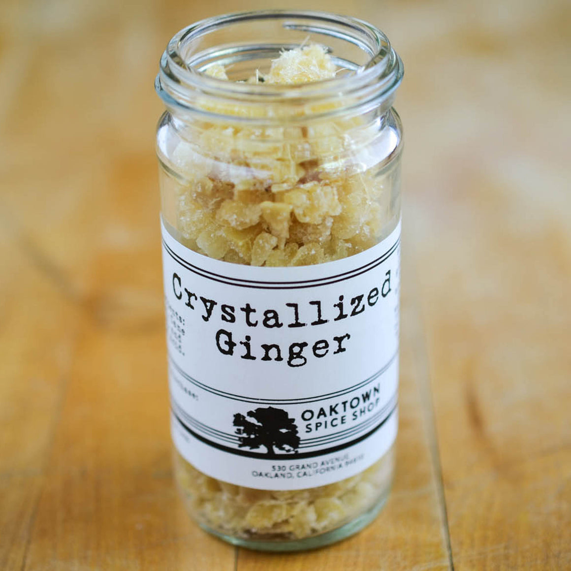 Ginger, Crystallized