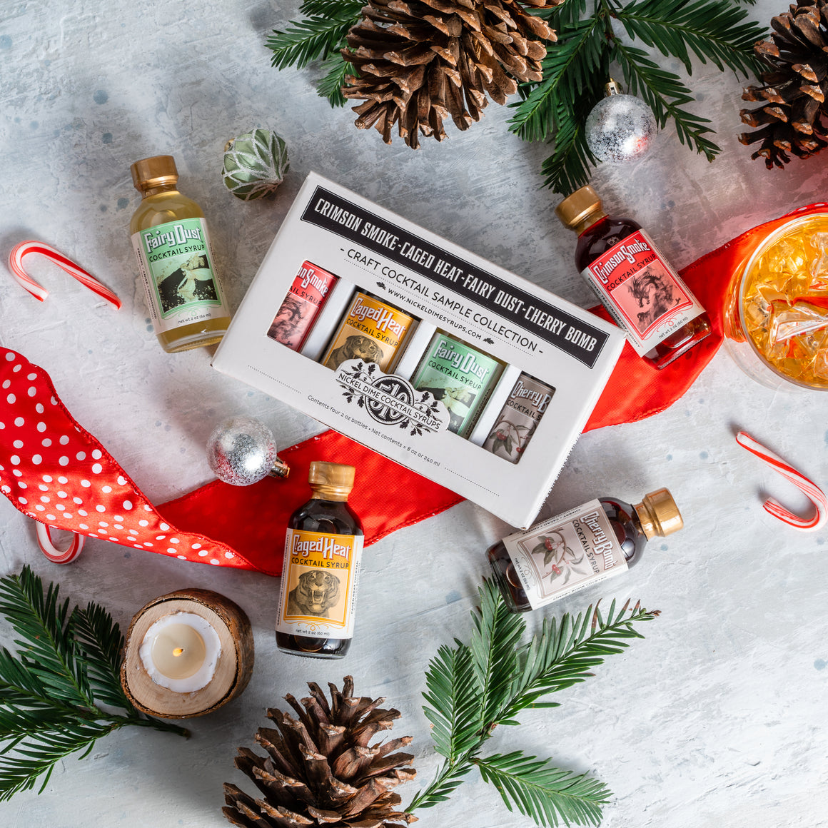 Nickel Dime Cocktail Syrups Gift Set (Pickup Only)