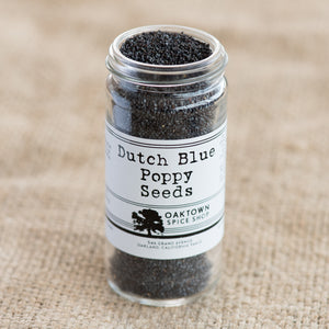 Poppy Seeds, Dutch Blue
