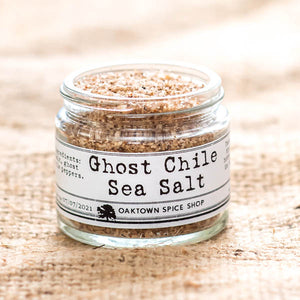 Ghost Chile Pepper Sea Salt