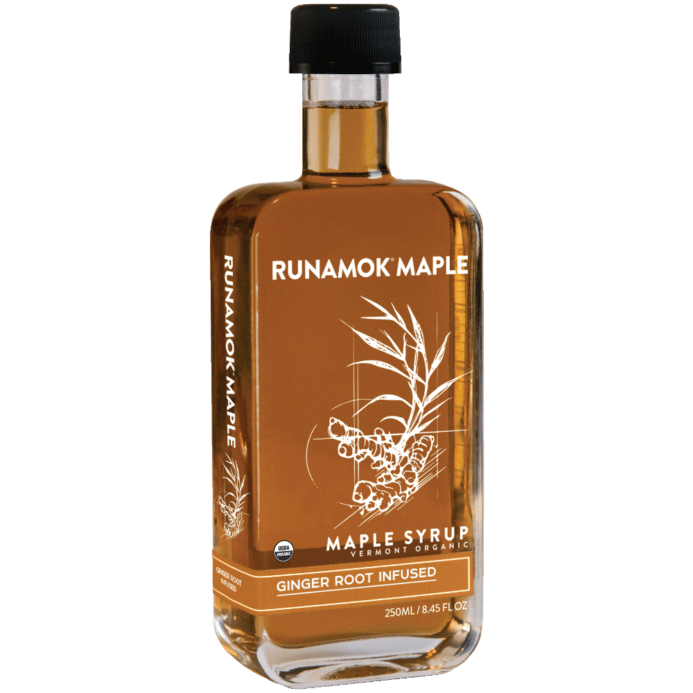 Ginger Root Infused Maple Syrup (Pickup Only)