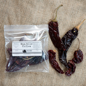 Guajillo Chiles, Whole