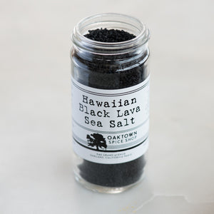 Hawaiian Black Lava Sea Salt
