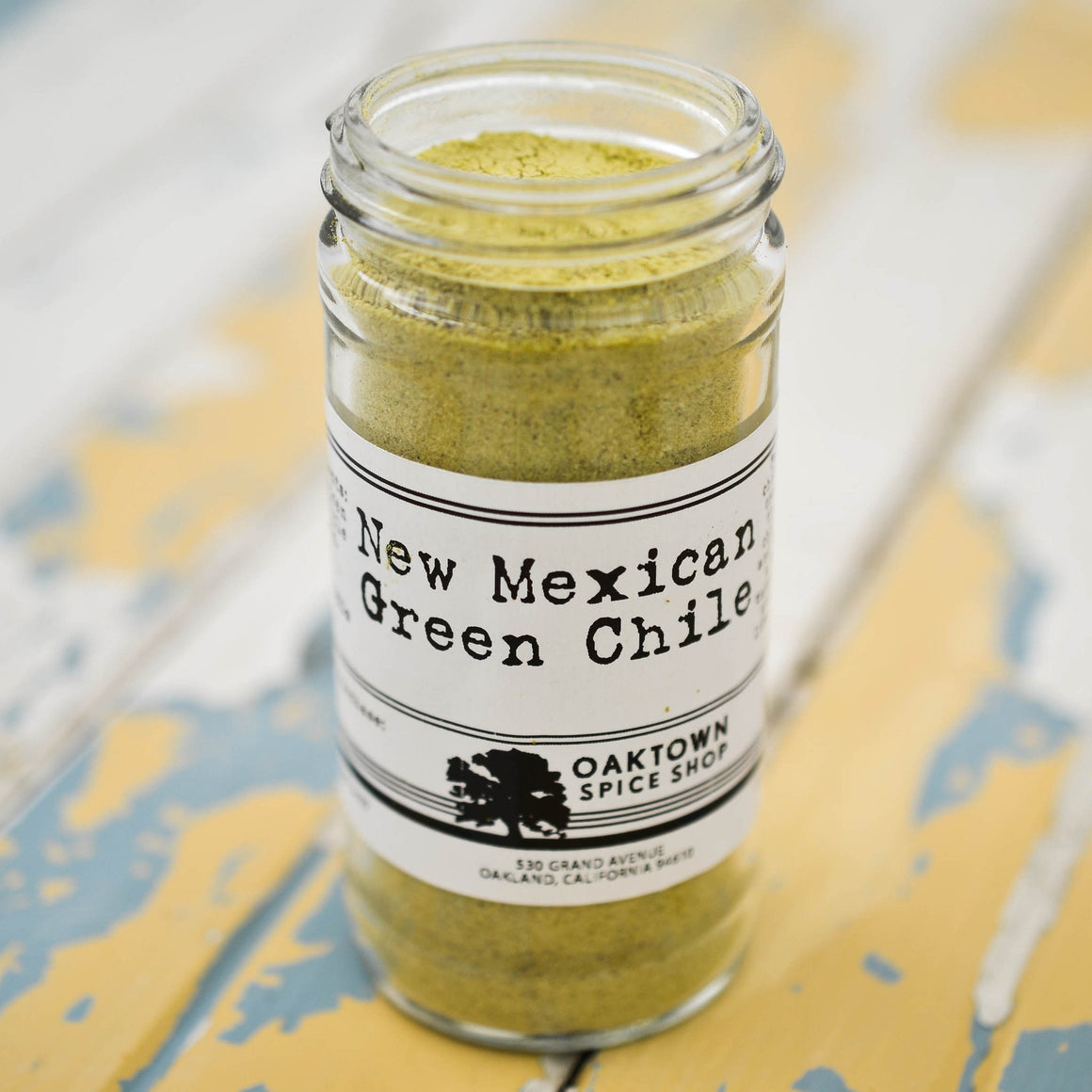 New Mexican Green Chile, Ground