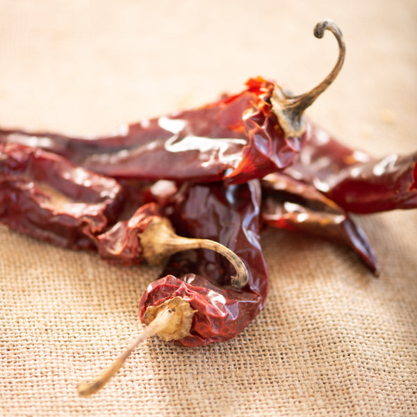 New Mexican Red Chile, Whole Sun-Dried