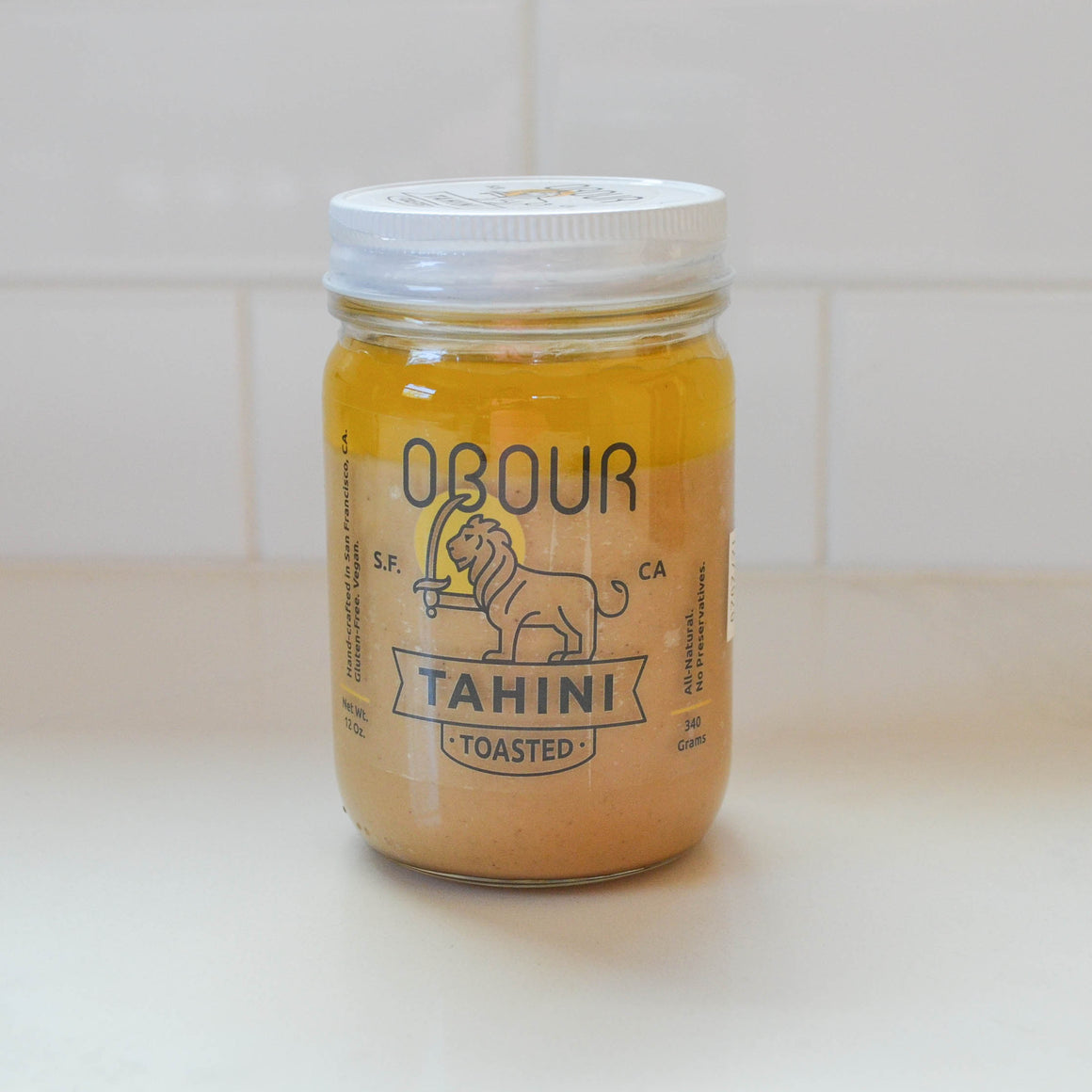 Organic Toasted Tahini (Pickup Only)