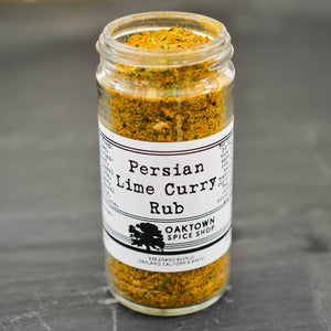 Persian Lime Curry Rub