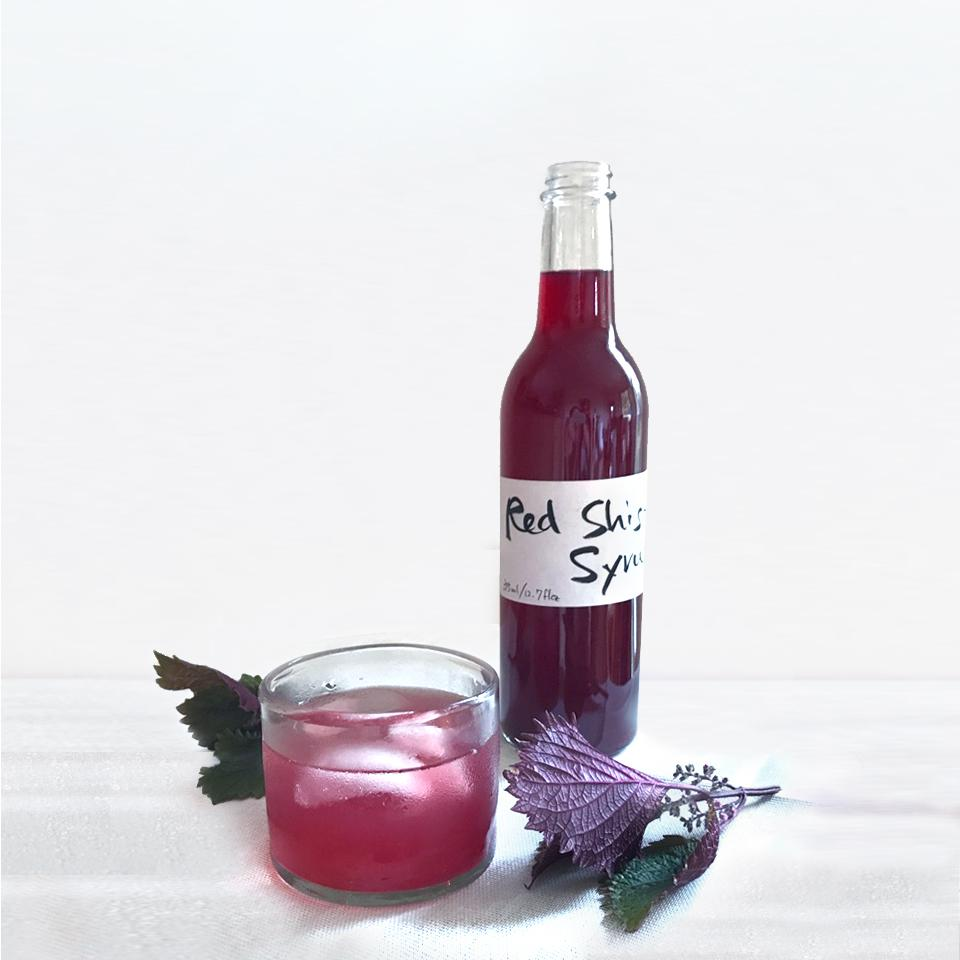 Yumé Boshi Red Shiso Syrup (Pickup Only)