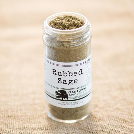 Sage, Rubbed