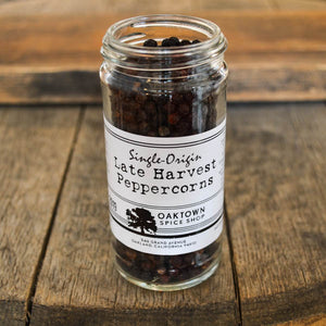Single-Origin Late Harvest Peppercorns