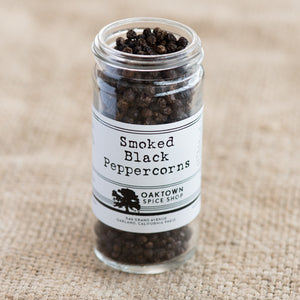 Smoked Black Peppercorns