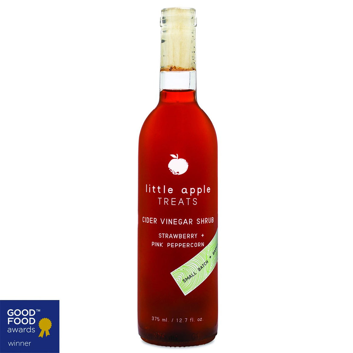 Little Apple Treats- Strawberry Pink Peppercorn Shrub (Pickup Only)