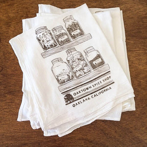 Oaktown Tea Towel