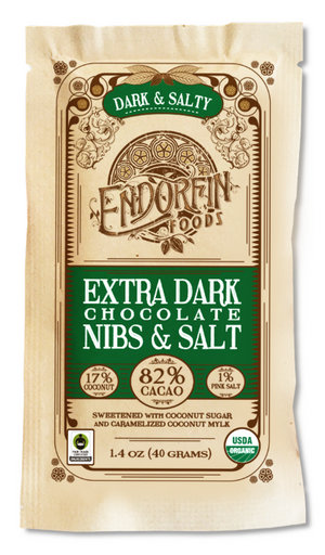 Endorfin Chocolate Bar - Dark & Salty (Pickup only)