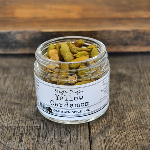 Single-Origin Yellow Cardamom (Organic)