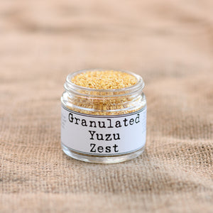 Yuzu Zest, Granulated