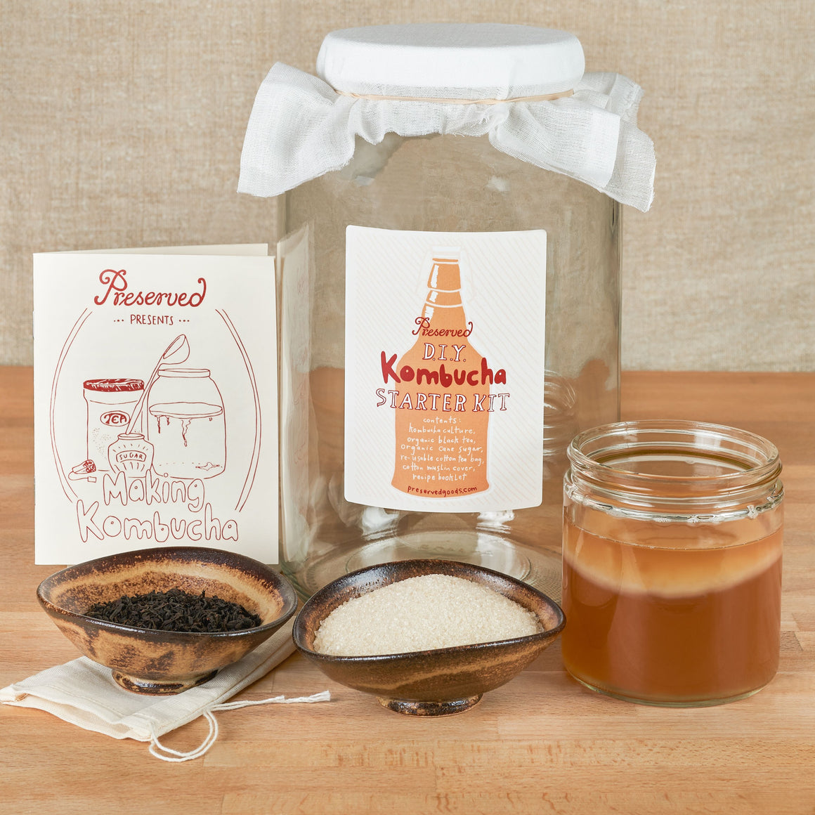 DIY Kombucha Starter Kit (Pickup Only)