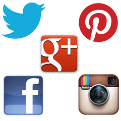 Fusion Lighting Social Media - Twitter, Facebook, Google+, Instagram, Pintrest